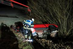 Bergung Unfallfahrzeug