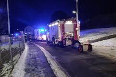 Bereitstellung Feuerwehr